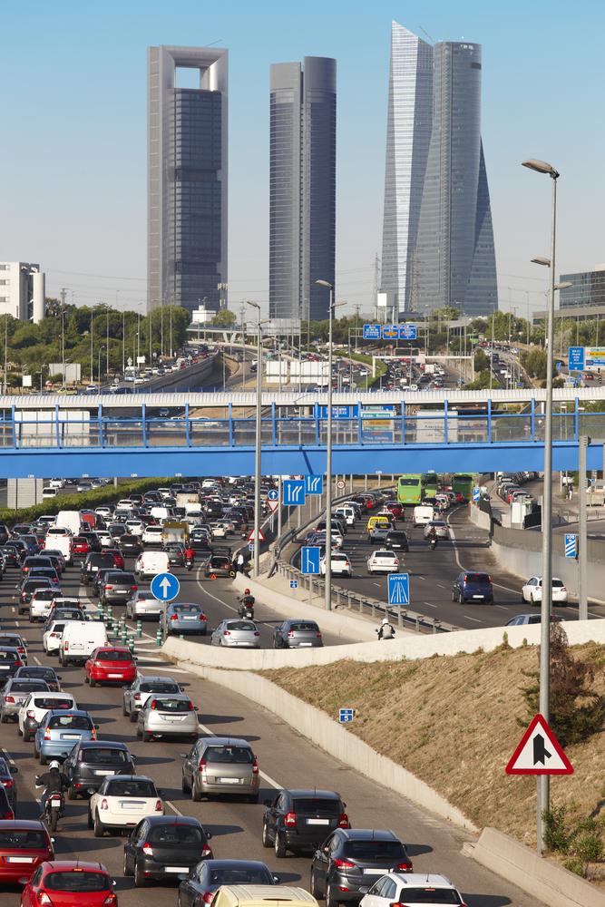Zona SER, azul y verde en Madrid