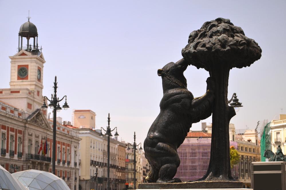 El Oso y el Madroño en l apUerta de Sol de Madrid
