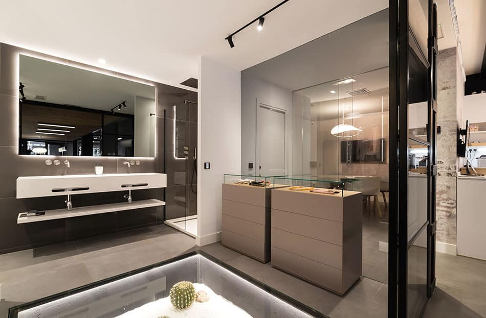 Cuartos de baño modernas